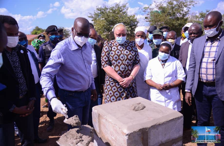 Haut-Katanga : Jacques Kyabula en visite d'itinérance dans le territoire de Sakanya.