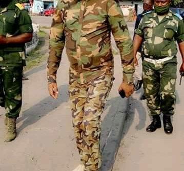 FARDC/ Décès de l'ancien combattant Daniel MIUKU Basolwa : Sylvain Mutombo promet des obsèques dignes d'un héros.