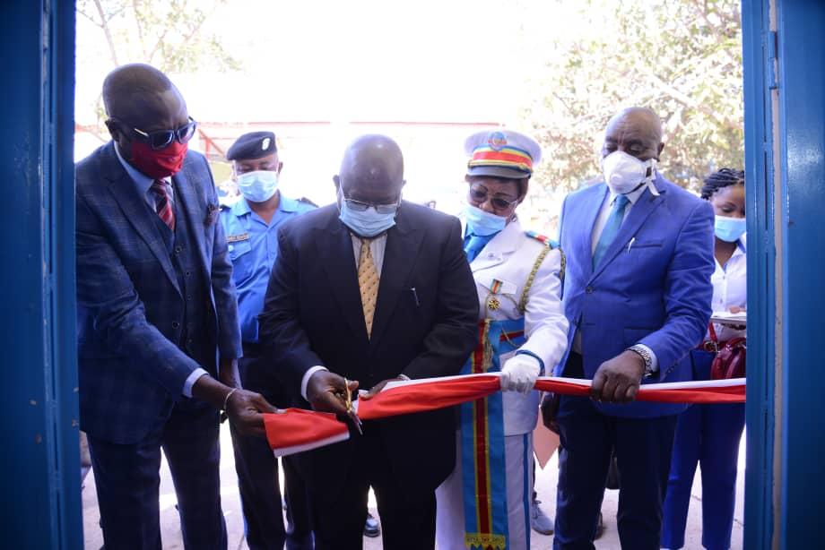 Haut-Katanga/Police de proximité : La commune de la Kenya dotée d'un nouveau bâtiment du Commissariat de la Police.