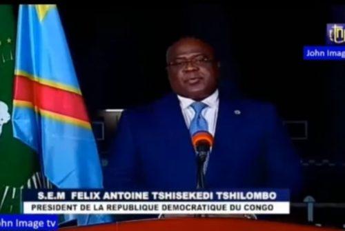 Célébration de l'indépendance : Le discours de Félix Antoine TSHISEKEDI à la hauteur des attentes de la population.