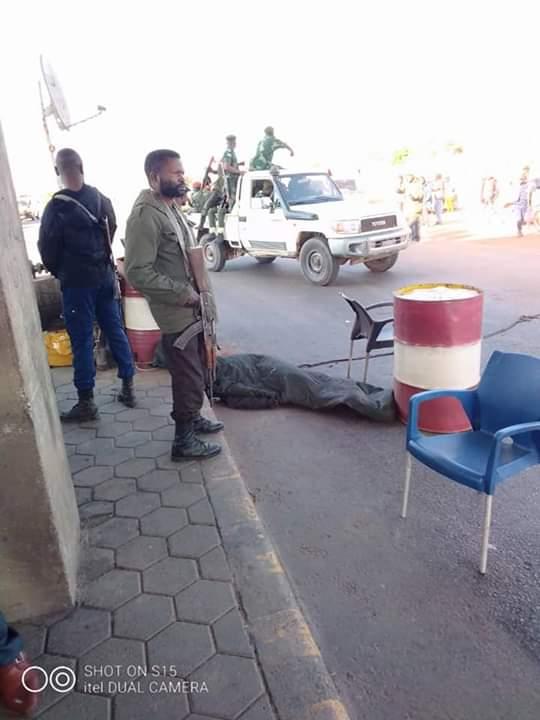 Haut-Katanga/poste de péage de Lwambo : Meurtre d'un policier au cours d'un braquage.
