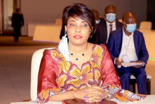Sondage  LE POINT : Acacia BANDUBOLA MBONGO Ministre de l'Economie Nationale, dans le Top 10.