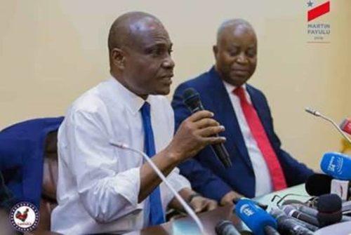 """Retombées du procès 100 jours : Martin Fayulu et Adolphe Muzito exigent un procès """"200 millions $ de la Gécamines""""."""