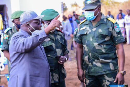 Haut-Katanga : Le Ministre national de la défense lance les activités agropastorales des FARDC.