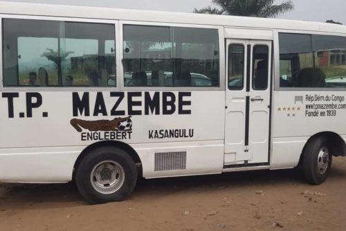 LINAFOOT Ligue 2 : TP Mazembe de Kasangulu déjà en possession de son bus promis par Moïse Katumbi.