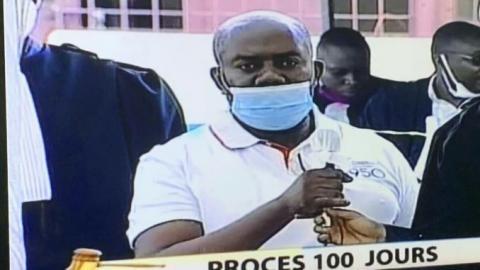 Retombées du procès 100 jours : Jeannot Muhima Ndoole aux arrêts.