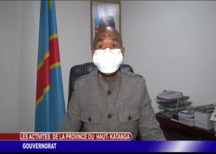 Lutte contre Coronavirus/Haut-Katanga : Le gouvernement décrète 3 nouveaux jours de confinement total.