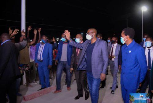 Lubumbashi : Le nouveau pont Kabulamenshi ouvert à la circulation.