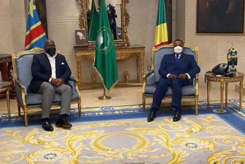 Diplomatie : Félix Antoine TSHISEKEDI en visite officielle à Brazzaville.