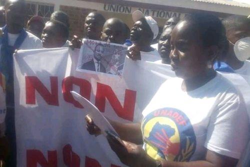 Tanganyika/Marche du 13 Juillet : LAMUKA se plaint du comportement de certains jeunes du PPRD.
