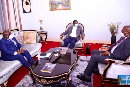Haut-Katanga : Le premier ministre Sylvestre Ilunga Ilunkamba à Lubumbashi.