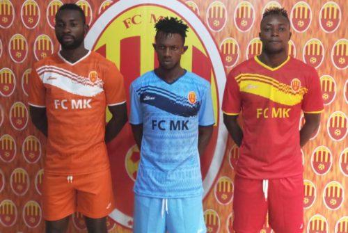 Football : Nouvelle saison,nouvel équipementier pour le Football club MK.