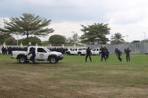 Lubumbashi : Abandonnés  à leur triste sort, des policiers internés au centre d'instruction de Kasapa se plaignent.