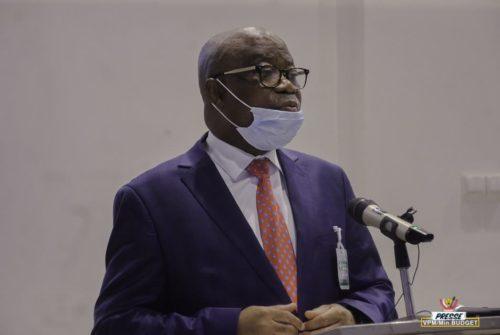 Ministère du budget : Me Jean-Baudouin Mayo lance le séminaire des consultations pré-budgétaires.