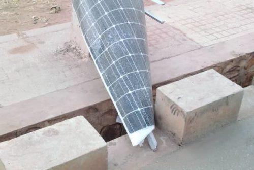 Tanganyika/Kalemie : Les lampadaires de l'éclairage public menacés par les intempéries.