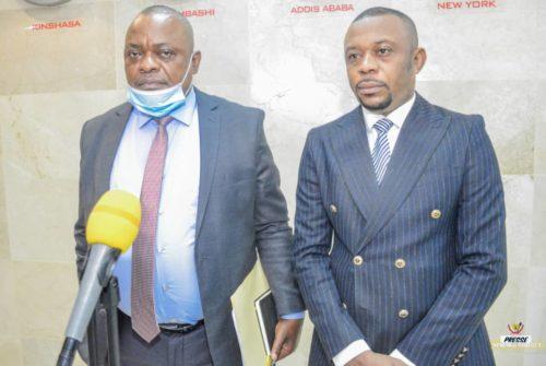 Perspective de la conférence budgétaire exercice 2021 : Le vice-ministre Félix Momat reçoit une délégation des Hauts Magistrats de la Cour de Cassation.