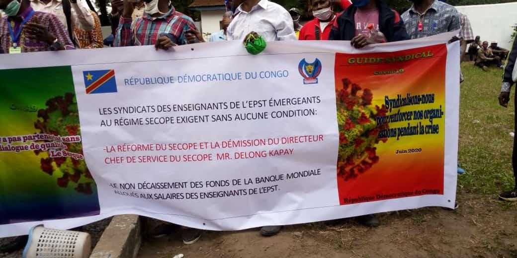 Enseignement Primaire Secondaire et Technique : Le Syndicat des Enseignants du Congo (SYECO) exige l'application de l'accord de BIBWA avant la reprise des cours.