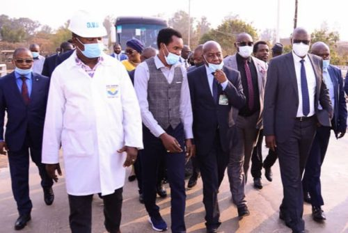 Haut-Katanga/Infrastructures routières à Lubumbashi : Les députés nationaux contents des réalisations de Jacques Kyabula.