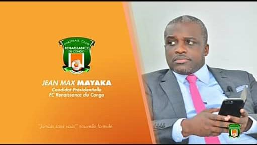 FOOT : Jean Max MAYAKA se déploie pour sauver le FC Renaissance du Congo.