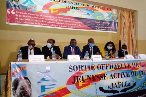 FCC/SORTIE OFFICIELLE DE LA JEUNESSE ACTIVE : UN COUP DE GÉNIE BIEN RÉUSSI MADE NKISHI.