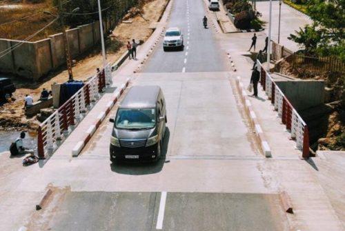 Lubumbashi/Route Tshinyama : Les usagers satisfaits de la qualité des travaux effectués.