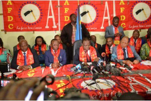 Parti politique/Dédoublement de l'AFDC-A : Gilbert Kankonde tranche en faveur de l'aile Bahati Lukwebo.