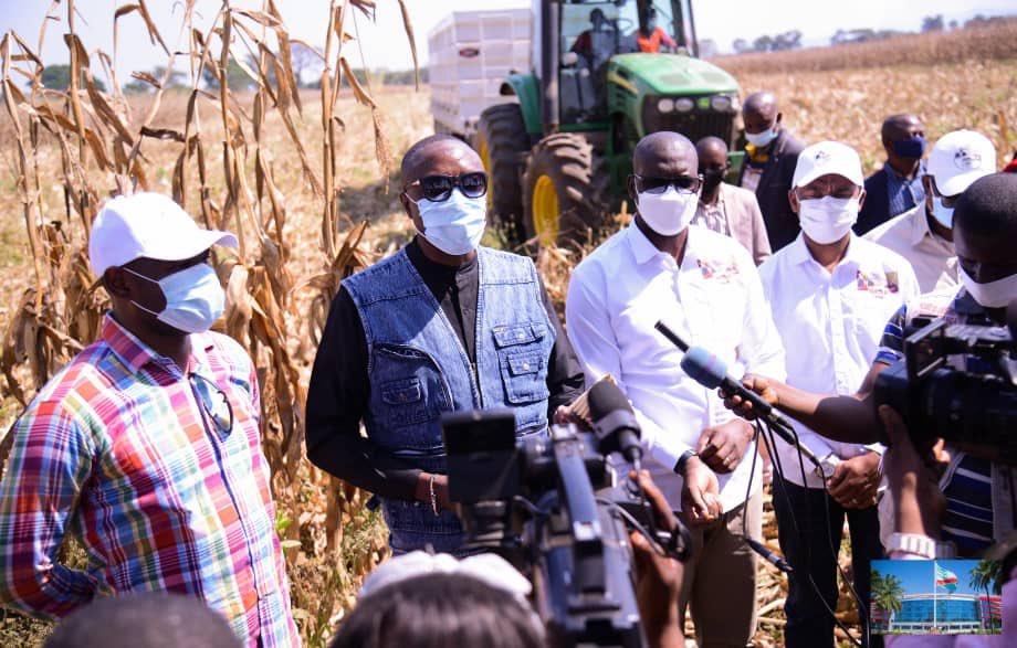 Haut-Katanga/Agriculture : Prioritaire pour Jacques Kyabula, le projet agricole promet déjà.
