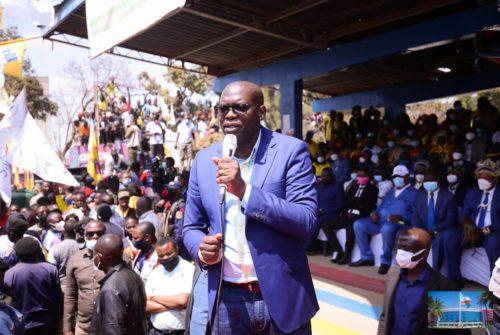 Haut-Katanga : Kipushi, siège de l'exécutif provincial pour 48 heures