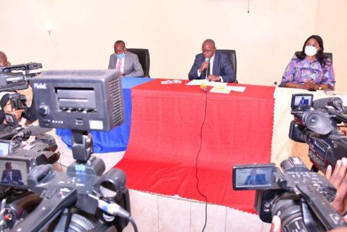 Vice-primature du budget/Atelier budgétaire : Le vice-ministre Félix Momat ouvre les travaux de l'exercice 2021 du Grand  Katanga à Kolwezi.