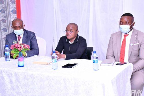 Vice-primature du budget/Régularisation des primes de médecins : Le Synamed Lualaba présente ses doléances au vice-ministre du budget Félix Momat Kitenge.