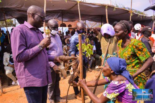 Haut-Katanga/Mitwaba : Jacques Kyabula boucle sa tournée par Mufunga Sampwe, Kasungeshi et Mitwaba cité.
