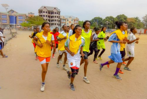 FOOT FEMININ /KINSHASA : REPRISE DES ENTRAÎNEMENTS DES VICE-CHAMPIONNES DU CSF BIKIRA.