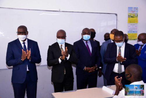 EPST : Willy Bakonga lance le go de l'examen d'état 2020 à Lubumbashi.