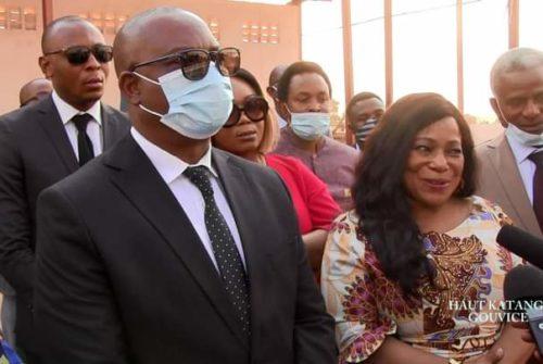 Haut-Katanga/Infrastructures : Guetty Nsiaka Mpanu Panu, Dircaba du chef de l'État , content du travail abattu par Jacques Kyabula.
