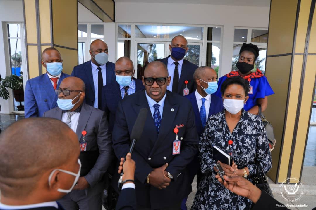RDC/ÉCONOMIE : Les miniers congolais plaident pour l'assainissement de leur secteur auprès de Félix Antoine TSHISEKEDI.