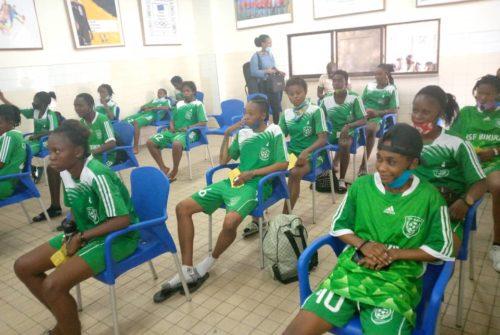Football Féminin : Le CSF Bikira passe son contrôle médical pour la saison 2020-2021.