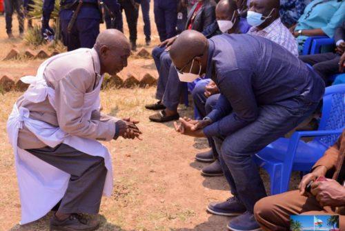 Haut-Katanga : Mitwaba, autre étape du périple du gouverneur Kyabula.