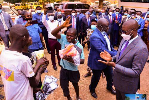 """Lubumbashi/Opération """"Zéro enfant dans la rue"""" : Les miniers emboîtent les pas à Kyabula Katwe."""