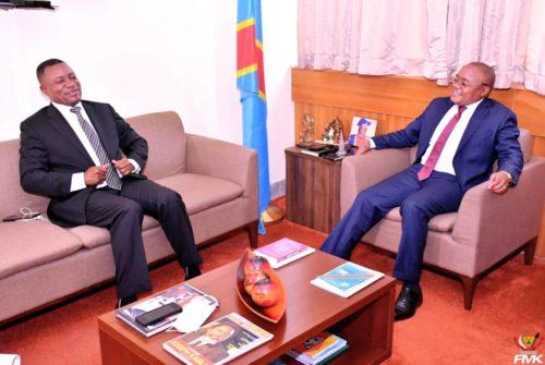 Vice-primature du budget : Échanges entre le Vice-ministre Félix Momat et le nouvel ambassadeur de la RDC auprès de  l'UNESCO.