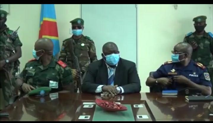 Haut-Katanga/Évaluation de la restauration de l'autorité de l'État à Kasumbalesa : Fulbert Kunda Milundu dépêché sur place par Jacques Kyabula pour un état de lieu.