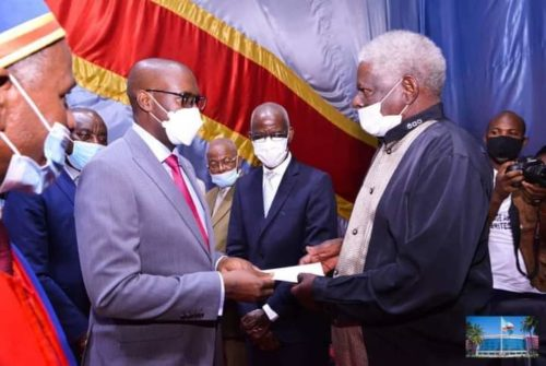 Haut-Katanga/UNILU : Le CT Kyabula présent à la célébration des professeurs émérites.
