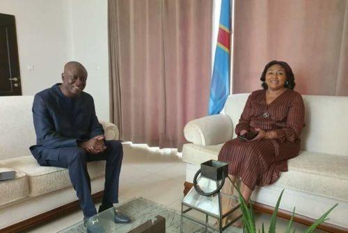 Kinshasa : Tête à tête Denise Nyakeru Tshisekedi-Augustin Kabuya, avant la tournée de la 1ère dame dans le Kongo Central.