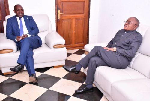 Nord-Kivu : Face à  face Vice-ministre du budget et le président de l'Assemblée provinciale.