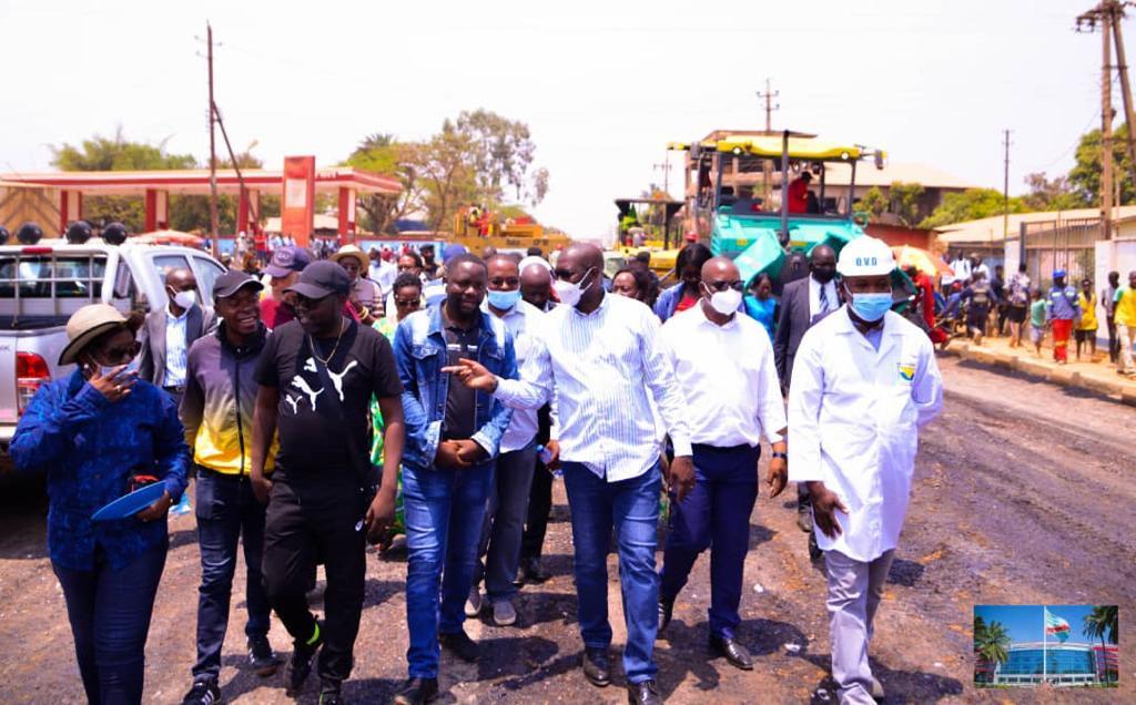 Haut-Katanga : Jacques KYABULA tient mordicus à l'achèvement des Chantiers lancés.