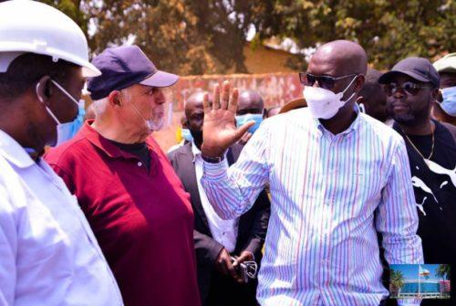 Haut-Katanga : Guidés par Jacques Kyabula, les députés provinciaux visitent quelques chantiers routiers lushois