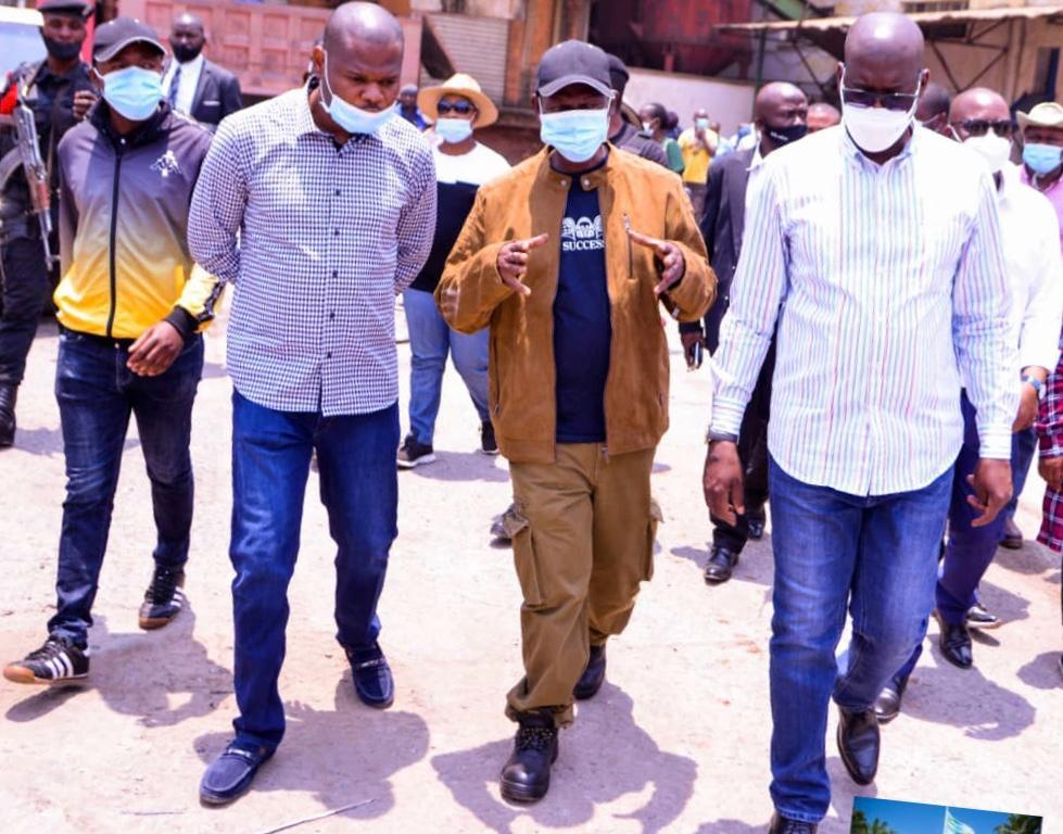 Haut-Katanga : Comme un champignon, la cité parlementaire sort de terre.