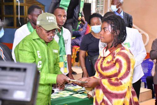 Nord-Kivu/ Adhésion massive de nouveaux militants de l'ECT : Une cérémonie XXL réussie animée par Félix Momat à Goma.