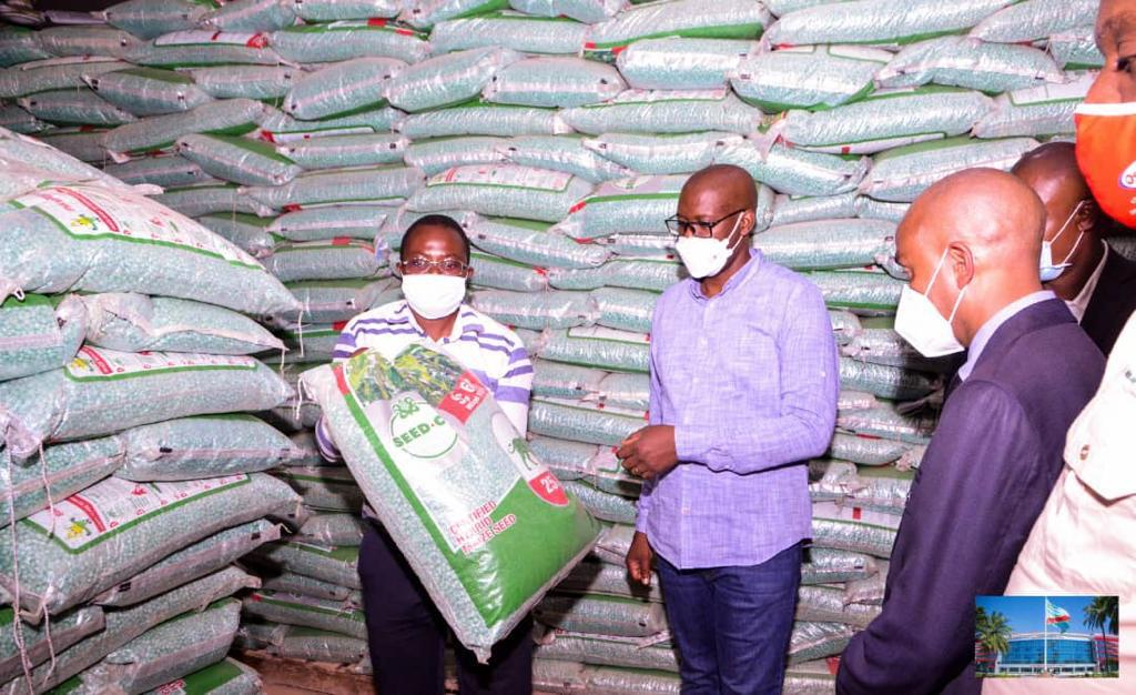 Haut-Katanga/Succès plein de la politique agricole : La farine se vend à bon prix.