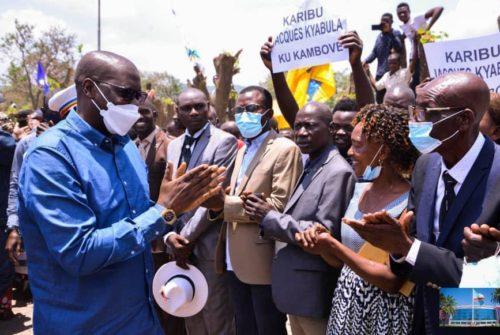Haut-Katanga/Tournée du gouverneur : Jacques Kyabula boucle son périple provincial par le territoire de Kambove.