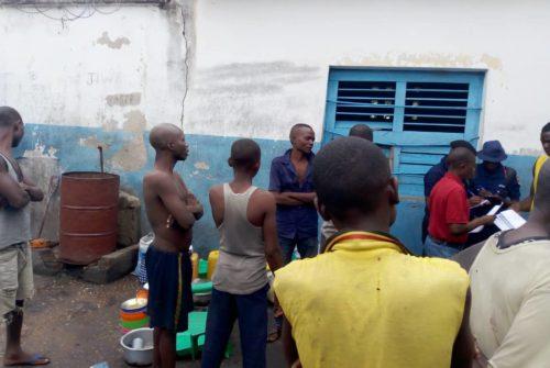 Tanganyika/Kongolo:  la direction de la prison centrale tire l'alarme  sur l'État de l'environnement carcéral.